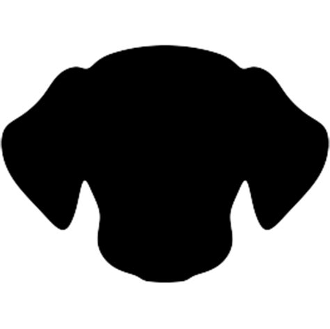dog head silhouette clip art dog silhouettes page 2