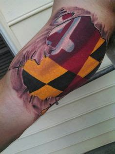 maryland flag tattoo designs 1000 ideas about maryland tattoos on maryland