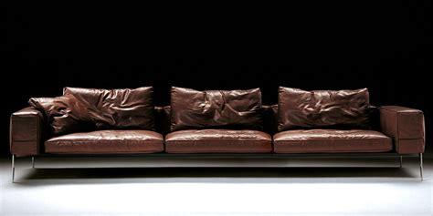 4 Seat Leather Sofa Italian Leather Sofa Bilbao By Calia