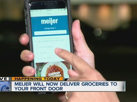 meijer to offer home delivery service for grocery shoppers