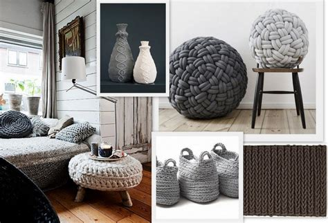 Knitting Home Decor Knitted Home Decor Interior Design Trend Design