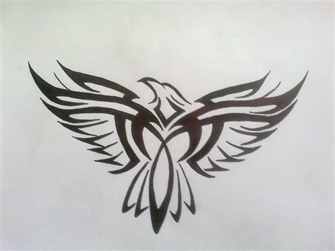 eagle tattoo tribal tribal eagle by bogi90 on deviantart