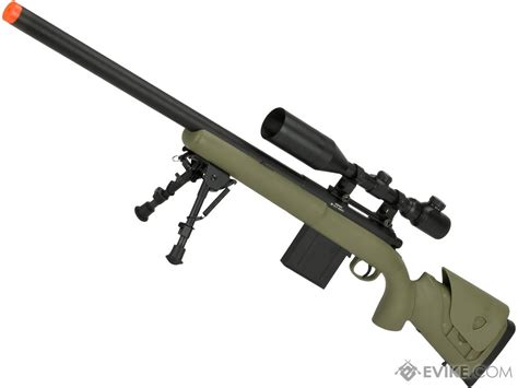 airsoft evikecom aps m40a3 bolt airsoft sniper rifle color