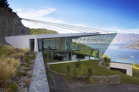 Pictures Of Country Homes Interiors Off The Edge Queenstown Glass Pavilion