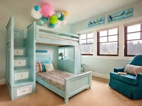 girls bunk beds with stairs bunk bed staircase transitional girl s room garrison