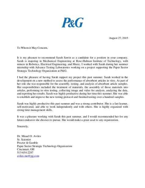 Recommendation Letter For Future sawin recommendation letter 08 2015