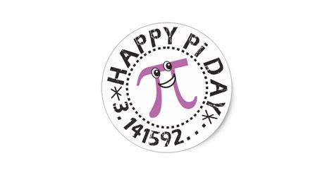 pi day cards templates happy pi day 169 pi day stickers zazzle au