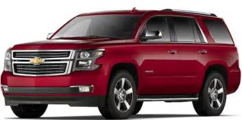 2017 tahoe size suv chevrolet