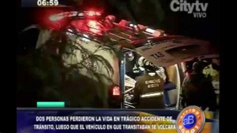 accidente conejera el noct 225 mbulo accidente en la conejera dej 243 dos personas