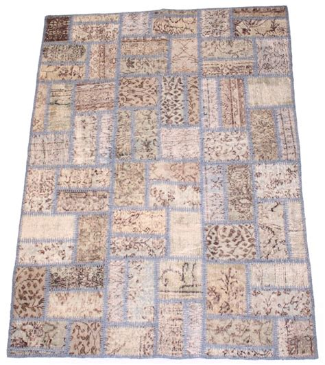 Carpet Patchwork - patchwork vintage carpet 200 x 140 cm rugs