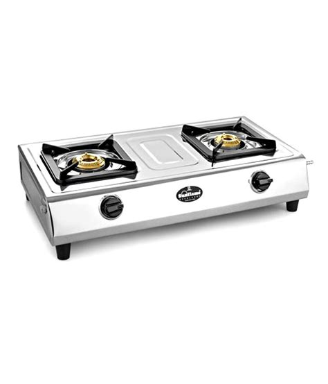 Two Burner Gas Cooktop Sunflame 2 Burner Shakti Gas Cooktop Price In India Buy