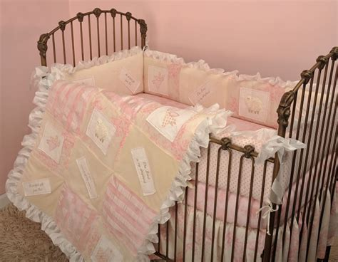 Heaven Sent Girl 4 Piece Baby Bedding Set By Cotton Tale Heaven Sent Crib Bedding
