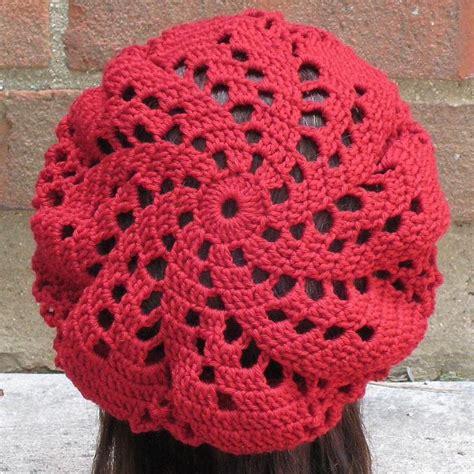 beret knitting pattern easy free 25 best ideas about crochet beret on crochet