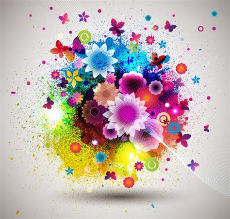 beautiful graphic design beautiful fashion abstract flower design vector graphic