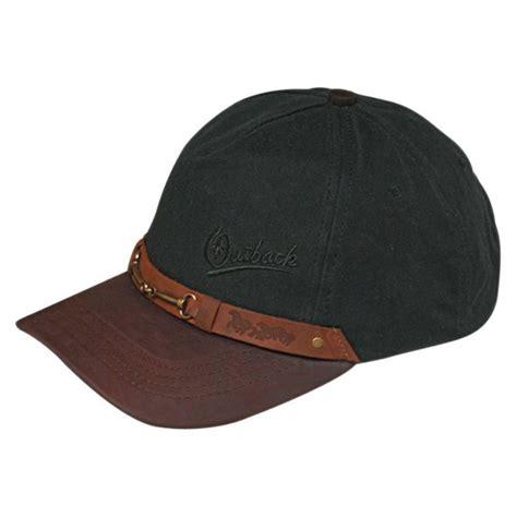 Funko Hat Baseball Cap outback trading company equestrian cotton oilskin baseball