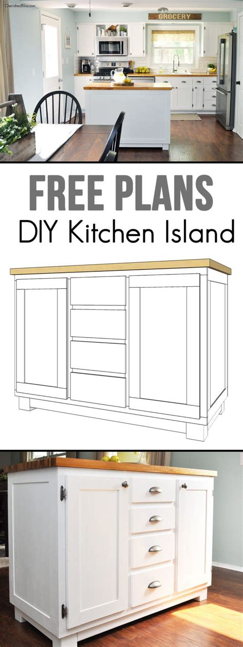 mobile kitchen island plans 1000 ideas about mobile kitchen island on pinterest