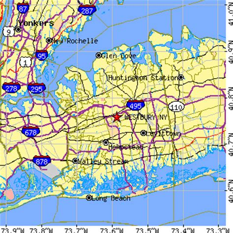 Garden City Ny Zip Code Westbury New York Ny Population Data Races Housing