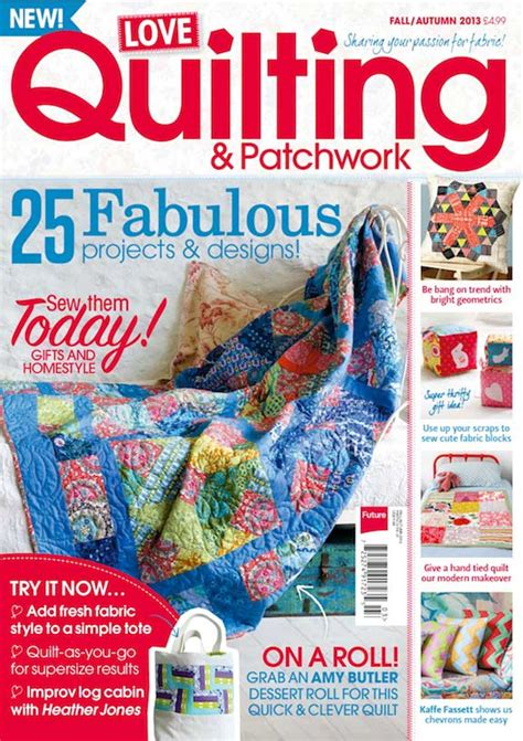 Quilting And Patchwork Magazine - magazines 171 thelongthread