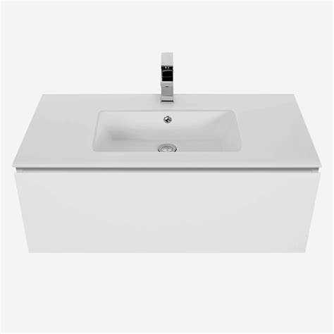 Bunnings Vanity by Cibo Design 900mm White Slide Vanity Bunnings Warehouse