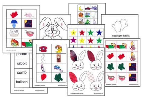 Goodnight Moon Worksheet by Goodnight Moon Extension Activities