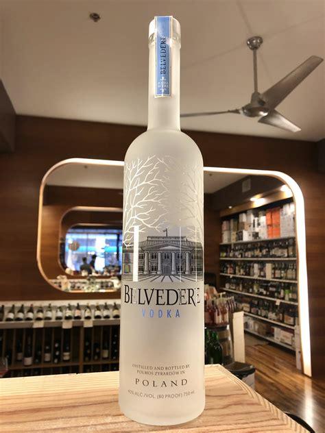 belvedere vodka  ml downtown wine spirits