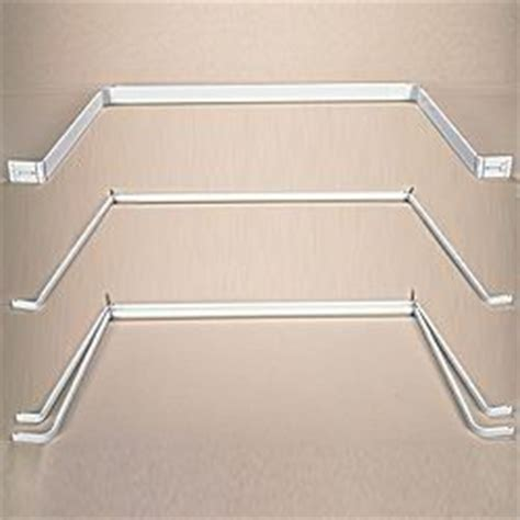 inset curtain rods 1000 ideas about double window curtains on pinterest