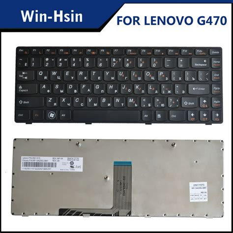 Keyboard Laptop Lenovo G470 New Laptop Keyboard For Ibm Lenovo Ideapad B470 G470