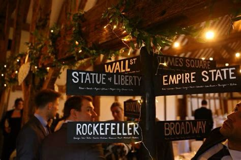 new york themed decorations un mariage quot new york new york quot yes we can mariage