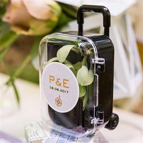 Mini Travel Trolley Wedding Party Favor ? Candy Cake Weddings