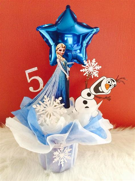 items similar to frozen centerpiece frozen party frozen