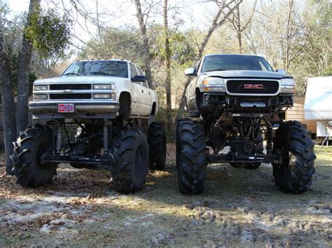 4x4 Truck Accessories Canada 4x4 Mud Trucks 00 Gmc Mud Truck Build 72 Quot Tires