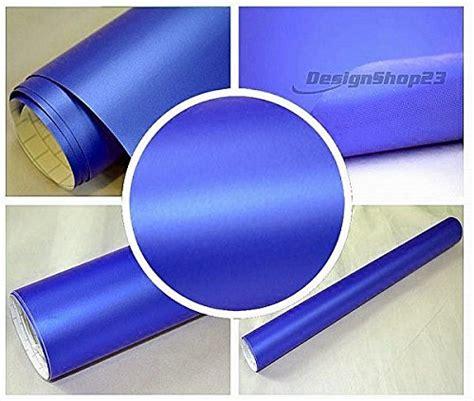 Lackieren In Tschechien by 4 5 M 178 Auto Folie Blau Metallic Matt 30 X 152 Cm