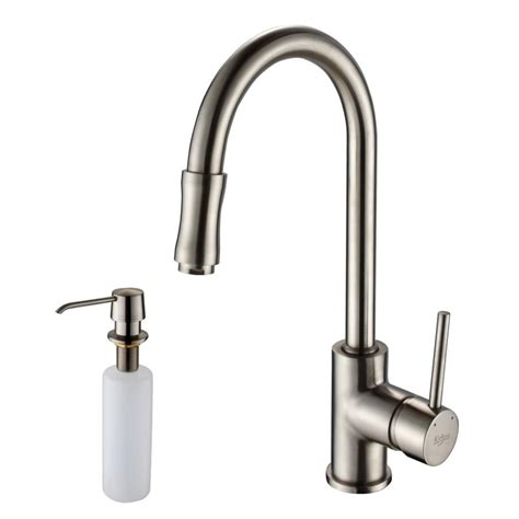 faucet khu101 23 kpf1622 ksd30ch in stainless steel