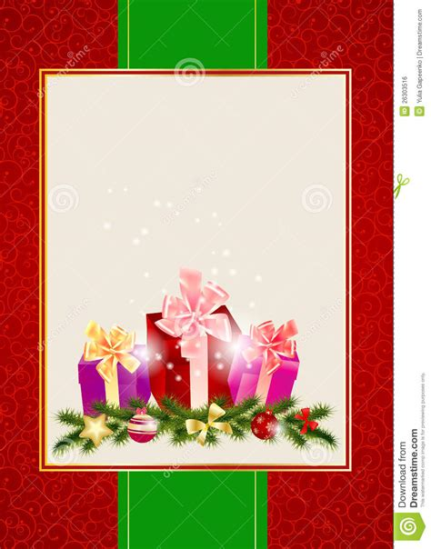 abstract beauty christmas invitation background royalty