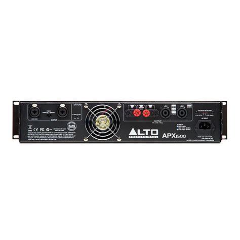 Power Lifier Alto alto professional apx1500 2 channel 1500 watt power lifier reverb