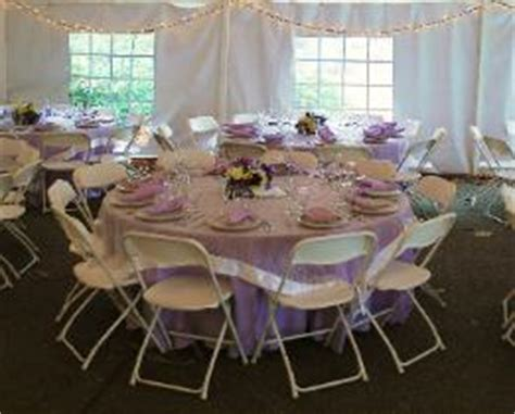 5 foot table seating rental services tent seating styles