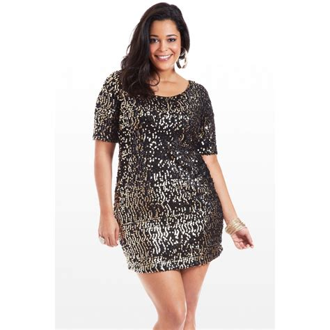 Glitera Dress plus size sequin dress dressed up