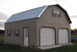 Amish built two story garages