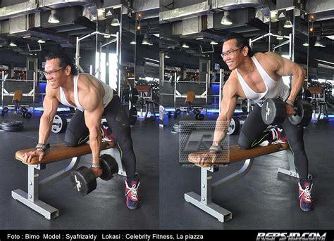 Alat Fitness Roda Perut Alat Melatih Otot Perut T1910 6 membangun otot punggung dan bahu yang indah bersama syafrizaldi reps indonesia fitness