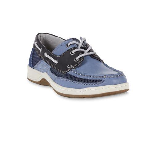 boat shoes kmart thom mcan men s pier boat shoe blue