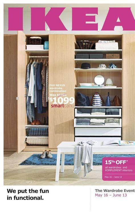 Ikea Closet Event ikea canada flyers