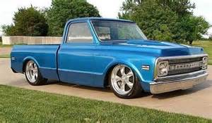 67 Chevy Truck Wheels C10 With Torq Thrust Ii Wheels 67 72 Chevy Trucks