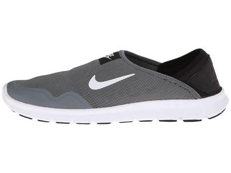 Nike Slip On nike orive lite slip on in gray cool grey black white lyst