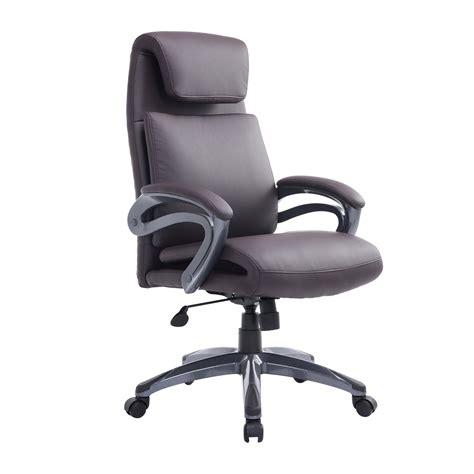 homcom office chair  support ergonomic air lumbar pu comfortable healthy