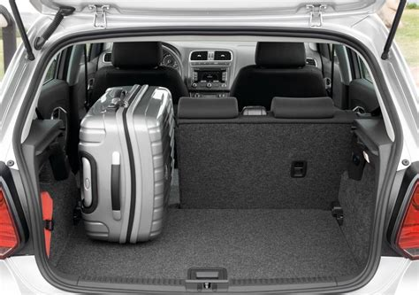 volkswagen polo boot size new polo 2009 boot space