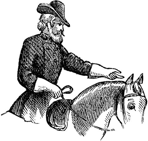 soldier on horse clipart etc