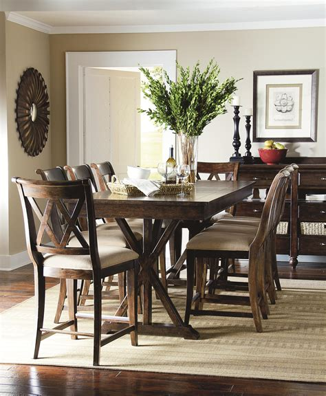 legacy dining room set flexxlabsreview com and classic 9 piece pub dining set with x shaped details by legacy