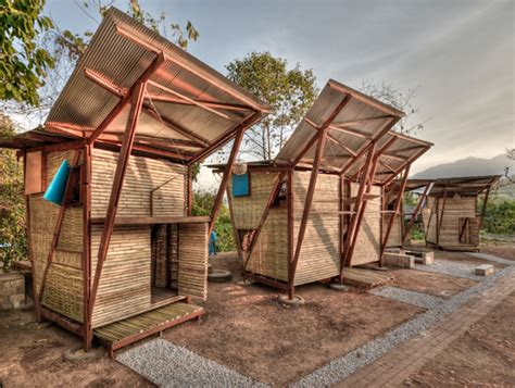 thailand wood prefab houses with modern butterfly roof
