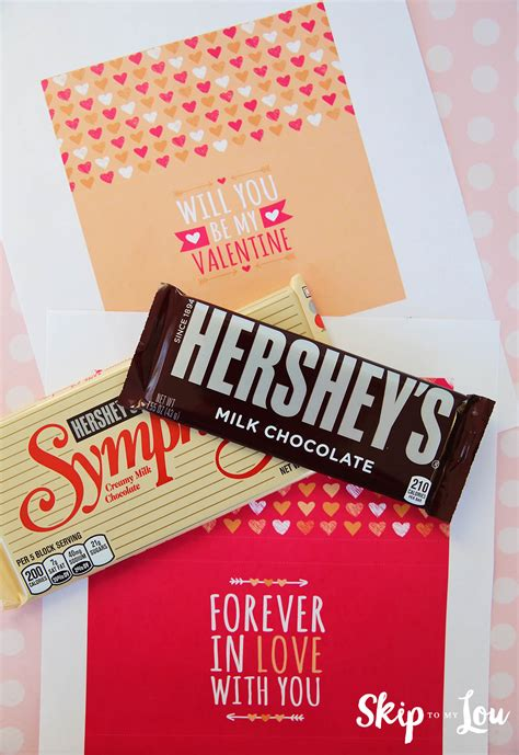 printable wrappers printable valentine candy bar wrapper skip to my lou