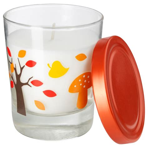candele ikea timglas scented candle in glass ikea for the home